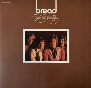 Bread - Baby I'm-A Want You (LP) (VG-/VG-)